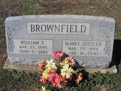 Mabel <I>Ditzler</I> Brownfield
