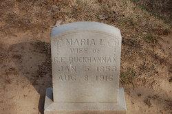 Marie Lucinda <I>Basinger</I> Buchanan