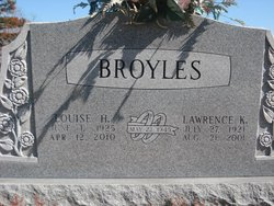 Louise <I>Hulet</I> Broyles