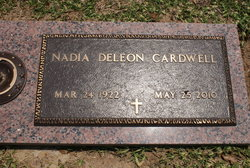 Nadia DeLeon <I>Watler</I> Cardwell