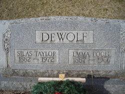 Silas Taylor DeWolf