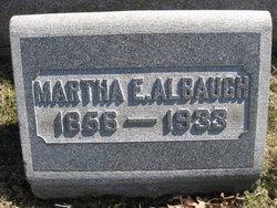Martha Elizabeth <I>Amos</I> Albaugh