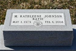 """Mildred Kathleene """"Katie"""" Johnson"""