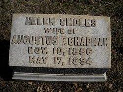 Helen <I>Sholes</I> Chapman