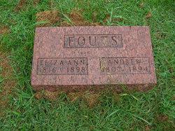 Eliza Ann <I>Hufford</I> Fouts