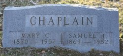 Mary C Chaplain