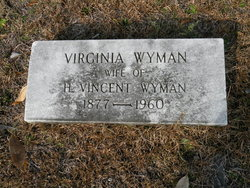 "Virginia ""Jennie"" <I>Wyman</I> Wyman"