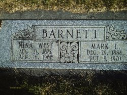 Nina Ruth <I>West</I> Barnett