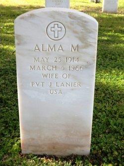 Alma M. <I>Neely</I> Lanier