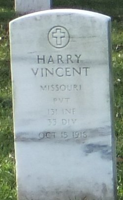 Pvt Harry Vincent