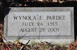 Wynola E Pardee
