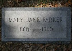 Mary Jane <I>Savage</I> Parker