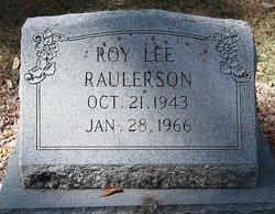 Roy Lee Raulerson