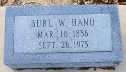 Burl W Hano