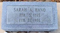 Sarah A. <I>Wheat</I> Hano