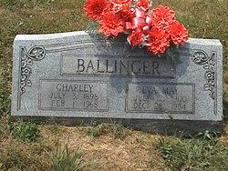Eva May <I>Blair</I> Ballinger
