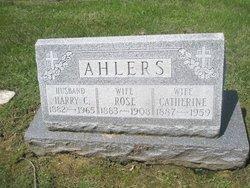 Harry C Ahlers