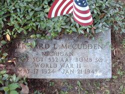 Sgt Bernard Leo McCudden