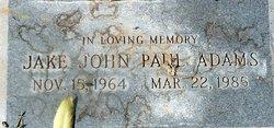 """John Paul """"Jake"""" Adams"""