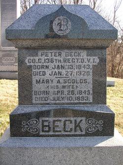Mary Ann <I>Scoles</I> Beck