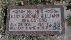 Mary Goddard <I>Williams</I> Brailsford