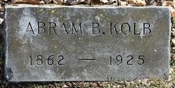 Abram B Kolb