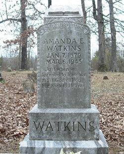 """Amanda Easter """"Mandy"""" <I>Medlock</I> Watkins"""