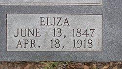 "Francis Elizabeth ""Eliza"" <I>Dial</I> Ashworth"