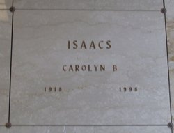 Carolyn Goldman <I>Bauman</I> Isaacs