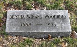 Bertha Winans Woodruff