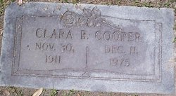 Clara B Cooper