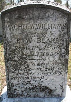 Rachel A. <I>Williams</I> Blake