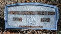 Annie Lessie <I>Fogle</I> Garrick