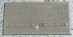 Mary Alice <I>Levens</I> James