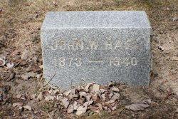 John W Hall