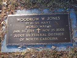Woodrow Wilson Jones