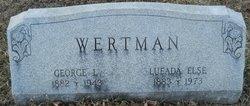 Lueade Else Wertman