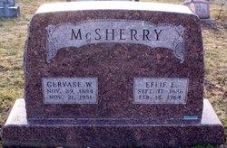 Effie E. <I>Cushing</I> McSherry