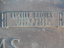 Lucille <I>Brooks</I> Adams