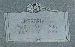 Gregoria L Gonzalez