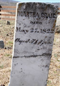 Martha <I>Crawford</I> Craig
