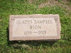 Gladys <I>Sampsel</I> Wion