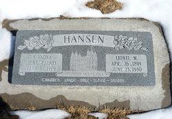 Lionel Morris Hansen