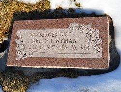 Betty I Wyman