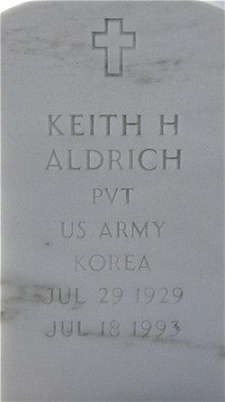 Keith H Aldrich