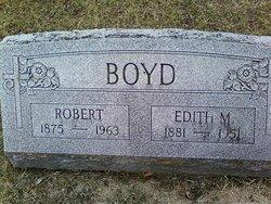Robert M Boyd
