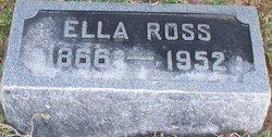 Ella <I>Crossley</I> Ross
