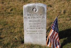 Sgt William Wesley Blackburn, Jr