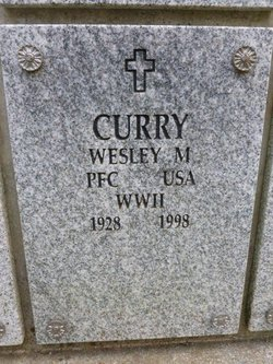 Wesley M Curry