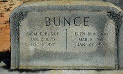 "Clarissa Eleanor ""Nellie"" <I>Hubbard</I> Bunce"